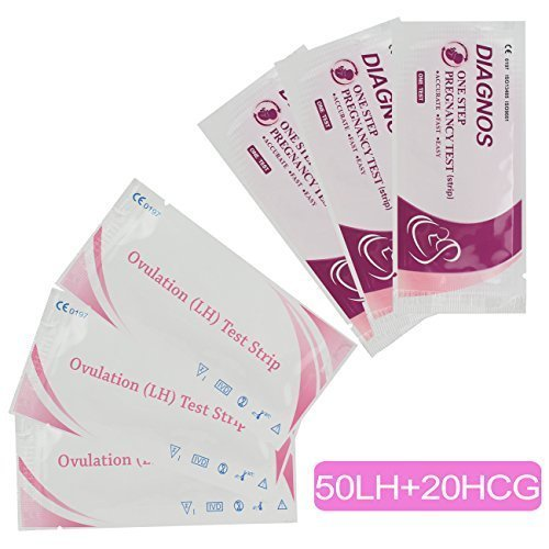 50 Ovulation Test Strips and 20 Pregnanc