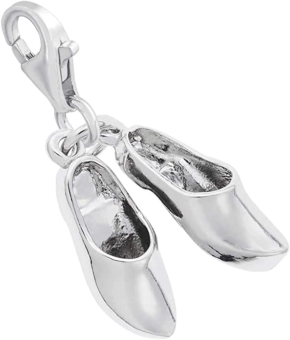 10K Yellow Gold Rembrandt Charms Snow Shoes Charm