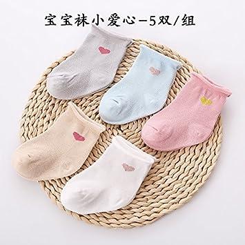 XIU*RONG Macho Y Hembra Bebé Calcetines Calcetín Otoño Invierno Baby Calcetines Calcetines Bebé Primavera