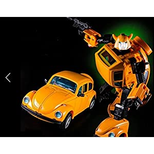 "TONGROU MP21 Bumblebee Deformed Toy 7"" Metal Diecast Action Figure in stock"
