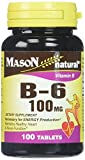Mason Vitamins B 6 100 mg Tablets, 60 Count Review