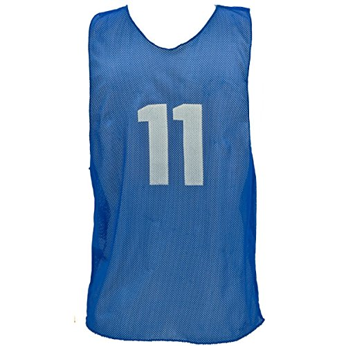 Champion Sports Solid Practice Vest (Mesh Pinnie Nylon Adult)