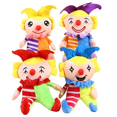 Wedding/Party/Opening Ceremony Throwing Dolls Plush Toys Memorial Gift Random Color-Clown