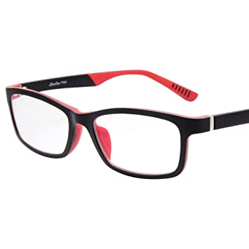 49e8a983c29 Image Unavailable. Image not available for. Color  LIANSAN TR Rectangle  Womens Mens Optical Frames Glasses ...