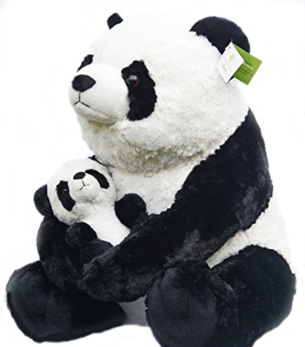 Amazon.com  Exceptional Home Giant Pandas Plush Stuffed Animals - 18