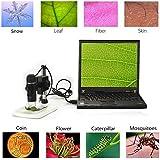 Aexcbiz Portable USB Digital Microscope Mini Microscope Camera Magnifier 5 Mega Pixels with professional Stand