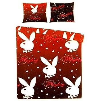 Playboy Dreaming Kaninchen Rot Oder Schwarz Einzelbett Bettwäsche