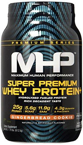 MHP Super Premium Whey Protein Plus, Gingerbread, 1.79 Pound