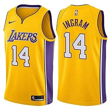 6430fca7d54c NIKE Brandon Ingram Los Angeles Lakers Association Edition Gold Swingman  Jersey - Men s 2XL (XX-Large)