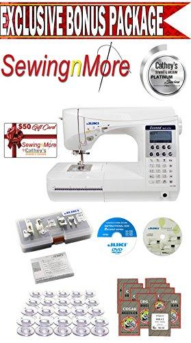 Juki Exceed HZL-F400 Quilt Pro Computerized Sewing & Quilting Machine w/ Exclusive Platinum Series Bonus Package!