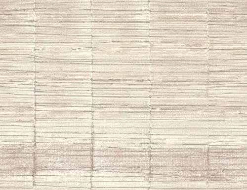 Bamboo Inspired Wallpaper Nude Sand Gray Cream Ombre Purple Raised Ink Texture Double Rolls