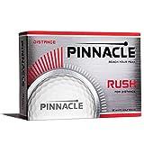 Pinnacle Rush Golf Balls, White (One Dozen)