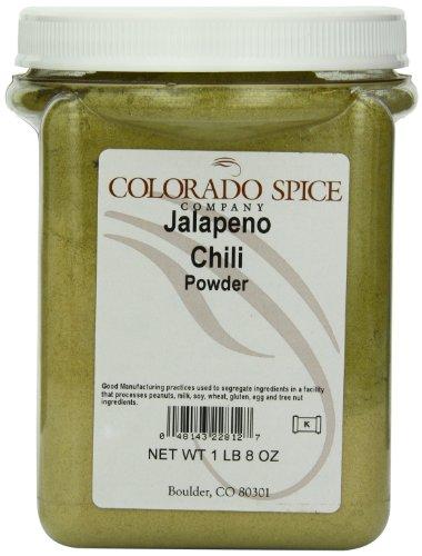 Colorado Spice Chili Pepper, Jalapeno Powder, 24-Ounce Jar