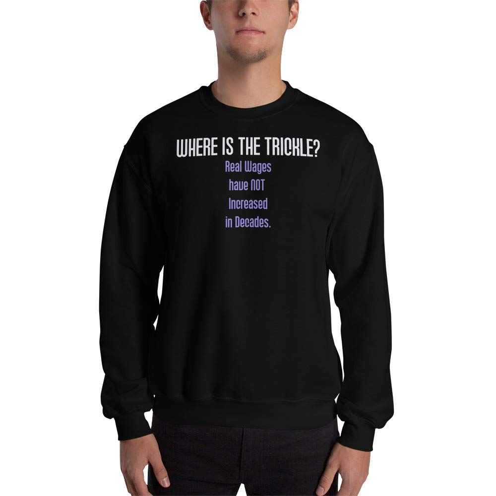 Sweatshirt Black STFND Where is The Trickle