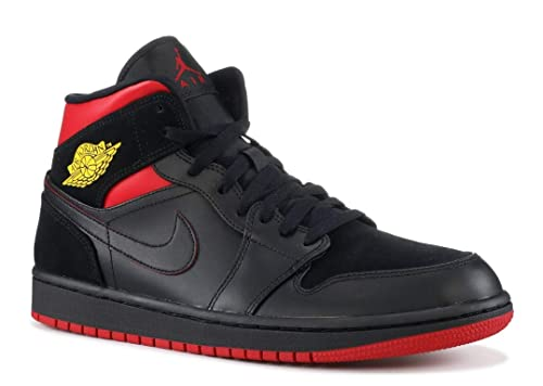 Nike Mens Air Jordan 1 Mid Basketball Shoe (11)