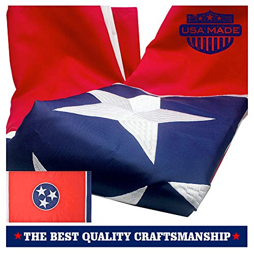 VSVO Tennessee State Flag 3x5 Ft 210D Nylon Premium Outdoor