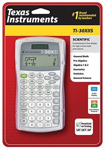 TI-30XIIS Scientific Calculator, White