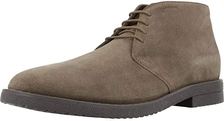 Sensible rumor solar  Geox Men's U Brandled B Desert Boots: Amazon.co.uk: Shoes & Bags