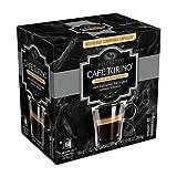 Cafe Turino Italian Style Espresso, (Ristretto, 60 count) Nespresso Compatible Capsules