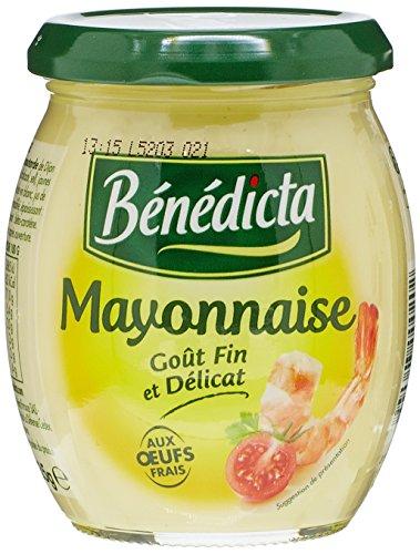 Benedicta Gourmet Mayonnaise, French Mayonnaise, 235g