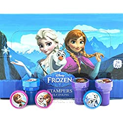 Disney Frozen 24 Self Inking Stampers Party Favors (IN BOX)