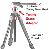 GyroVu TUNING STAND TRIPOD ADAPTOR for DJI Ronin / DJI Ronin M / MX designed to mount DJI Tuning Stand (Part 11, Part 15) on tripod to make stabilizer's adjustment procedure quick and easy (Electronics)