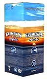 Elements 1 1/4 Rice Paper Pre-Rolled Cones (900 Pack)