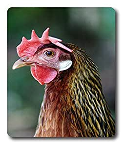 light up mouse pad Rooster Headshot Animal PC Custom Mouse Pads / Mouse Mats Case Cover