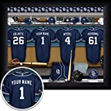 San Diego Padres Personalized Framed Print