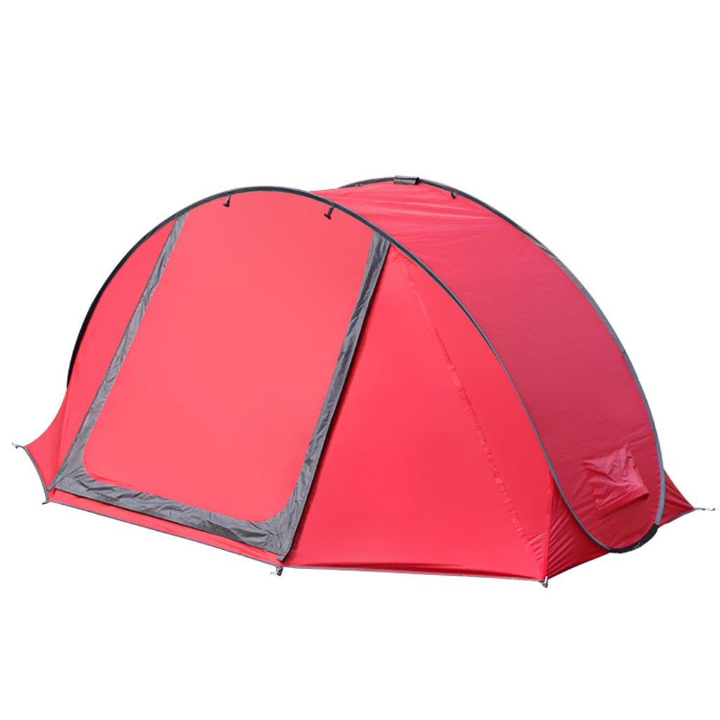 Deng Zelt im Freien 3-4 Personen vollautomatische Camping Zelte Geschwindigkeit offenen Familien Camping Strand