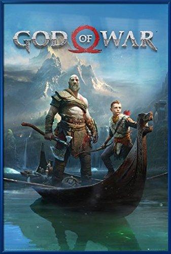 God Of War - Framed Gaming Poster/Print