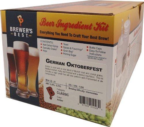 Brewer's Best German Oktoberfest Home Brewing Ingredient Kit by German Oktoberfest