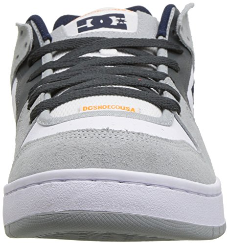 D Shoe D Manteca US Grey DC 5 Men Skate 6 White pBU1q