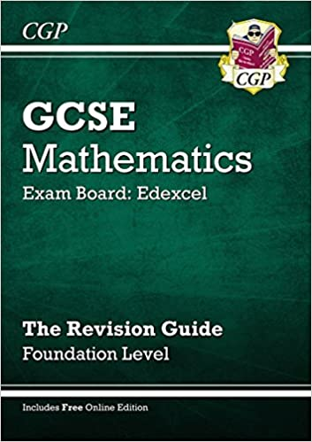 GCSE Maths Edexcel Revision Guide with Online Edition - Foundation ...