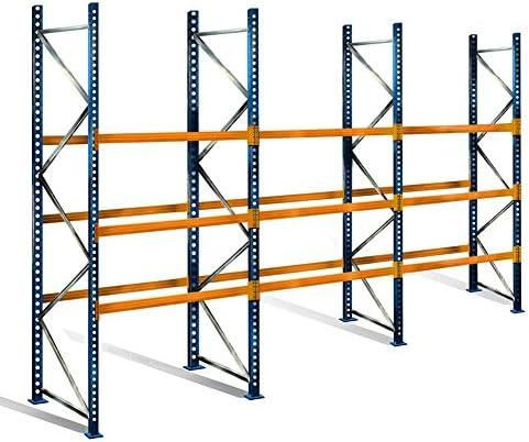 palé – Estantería con 4 niveles, 5 m de altura, 8,5 m ancho ...