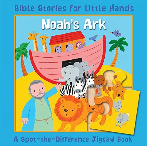 Noahs Ark Jigsaw Book - Noah's Ark: A Spot-the-Difference Jigsaw Book (Bible Stories for Little Hands)