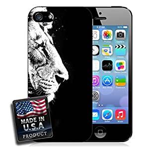 Black and White Lion iPhone 6 Plus Hard Case