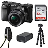 Sony Alpha a6000 Mirrorless Camera w/ 16-50mm Lens & 32GB SD Card Bundle Review