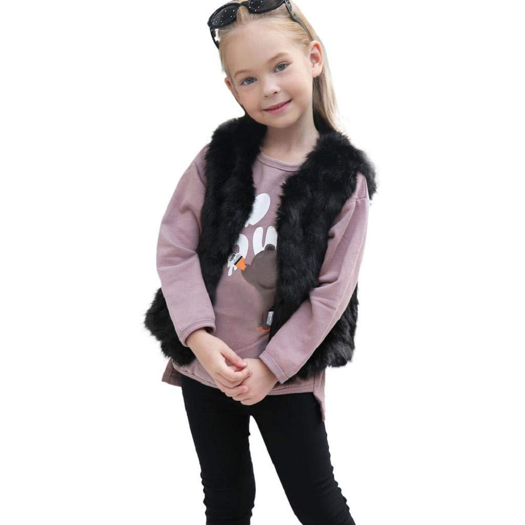 ABCone - Bambino Ragazzo delle Neonate Ragazza Regalo Capispalla Scaldamuscoli Invernali Di Faux Cashmere Natale Bambina Bambini Vestito Abiti Susenstone