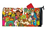 BABBY Indian Women Mailboxes Cover Rust-Proof Mail Box Covers Large Capacity Post Mouth Letter