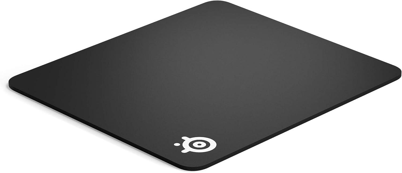 SteelSeries QcK Heavy - Alfombrilla de ratón para juegos - Base de goma antideslizante extragruesa - Optimizada para sensores de juegos - Tamaño L ...