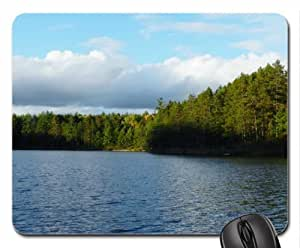 Lake Of Summer Clouds Mouse Pad, Mousepad (Lakes Mouse Pad)
