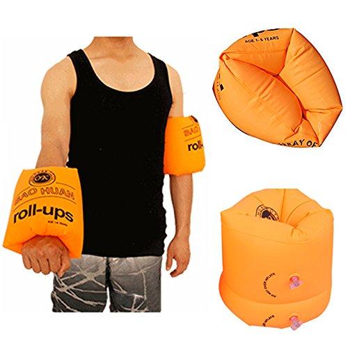 ZREAL Lovely Swim Rollup Arm Bands Anelli Galleggianti Tube Armlets per bambini e adulti