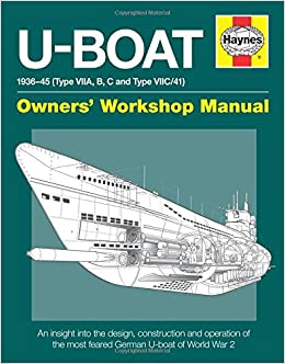 U-Boat 1936-45 (Type VIIA, B, C and Type VIIC/41): An insight into
