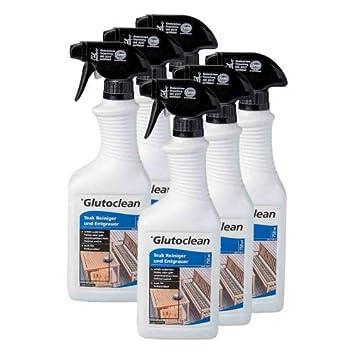 6 X Glutoclean Teak Reiniger Und Entgrauer 0 75l Amazon De Baumarkt