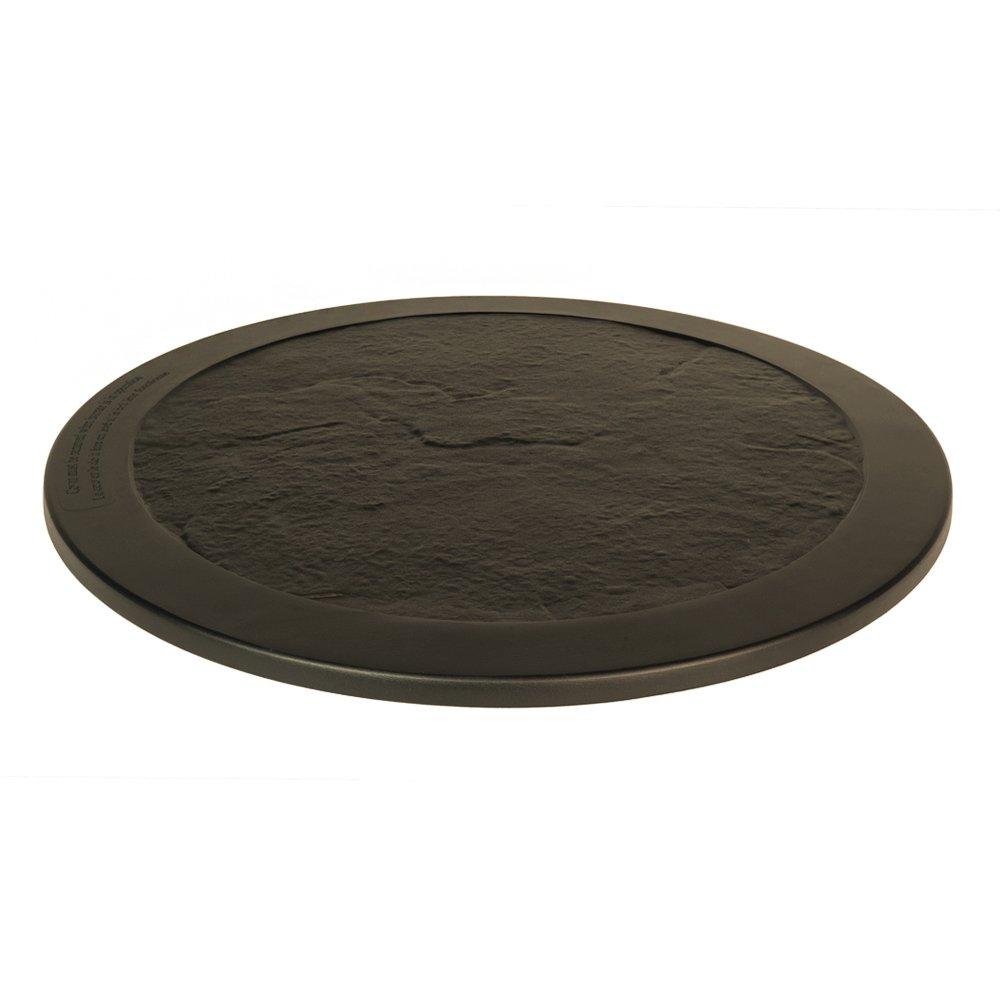 Agio Cast Aluminum Burner Cover (Round Lazy Susan Bronze)
