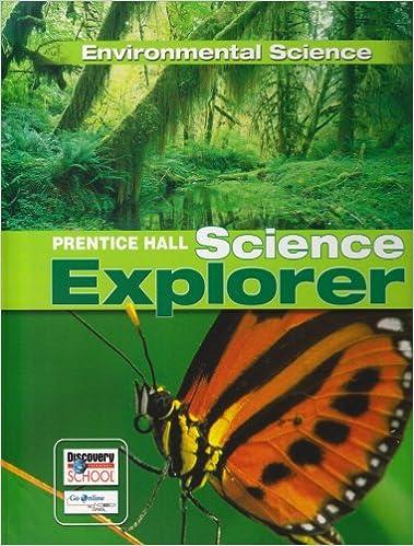 Kostenlose britische Bücher zum Download SCIENCE EXPLORER ENVIRONMENTAL SCIENCE STUDENT EDITION 2007C PDF