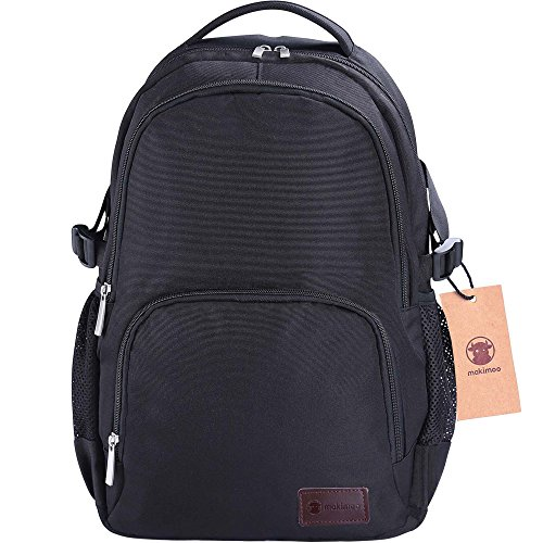 Travel Outdoor Computer Backpack Laptop bag 18''(black) - 8
