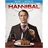 Hannibal: The Complete Series Collection Season 1-3 [Blu-ray + Digital HD]