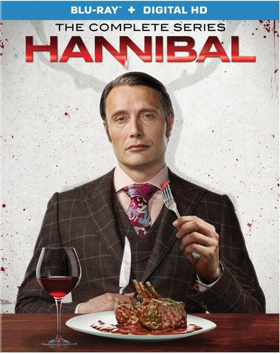Blu-ray : Hannibal: The Complete Series (Boxed Set, Digitally Mastered in HD, Widescreen, , Digital Theater System)